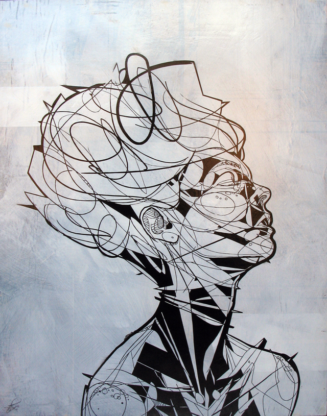 Line Drawing Portrait Tumblr : Jewel jason thielke