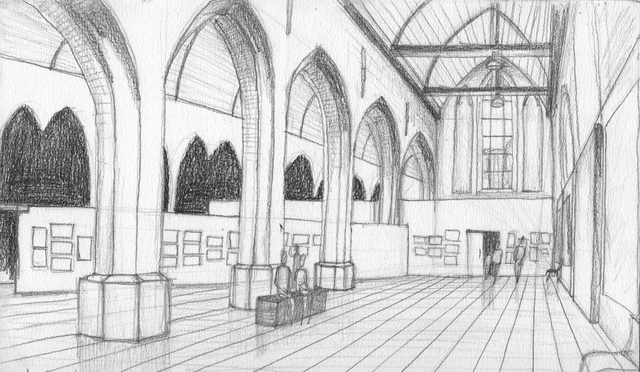 Pencil drawings marie laure pacquet architecture